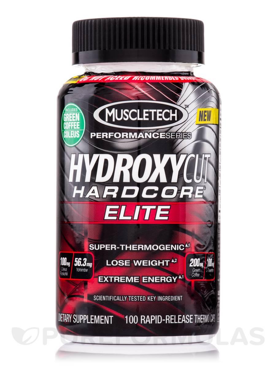 Hydroxycut Hardcore Elite - 100 Capsules