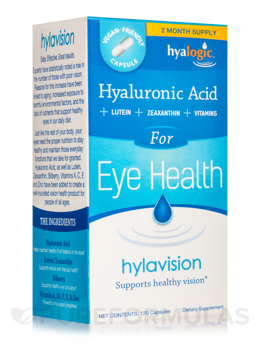 HylaVision (Hyaluronic Acid for Eye Health) - 120 Capsules