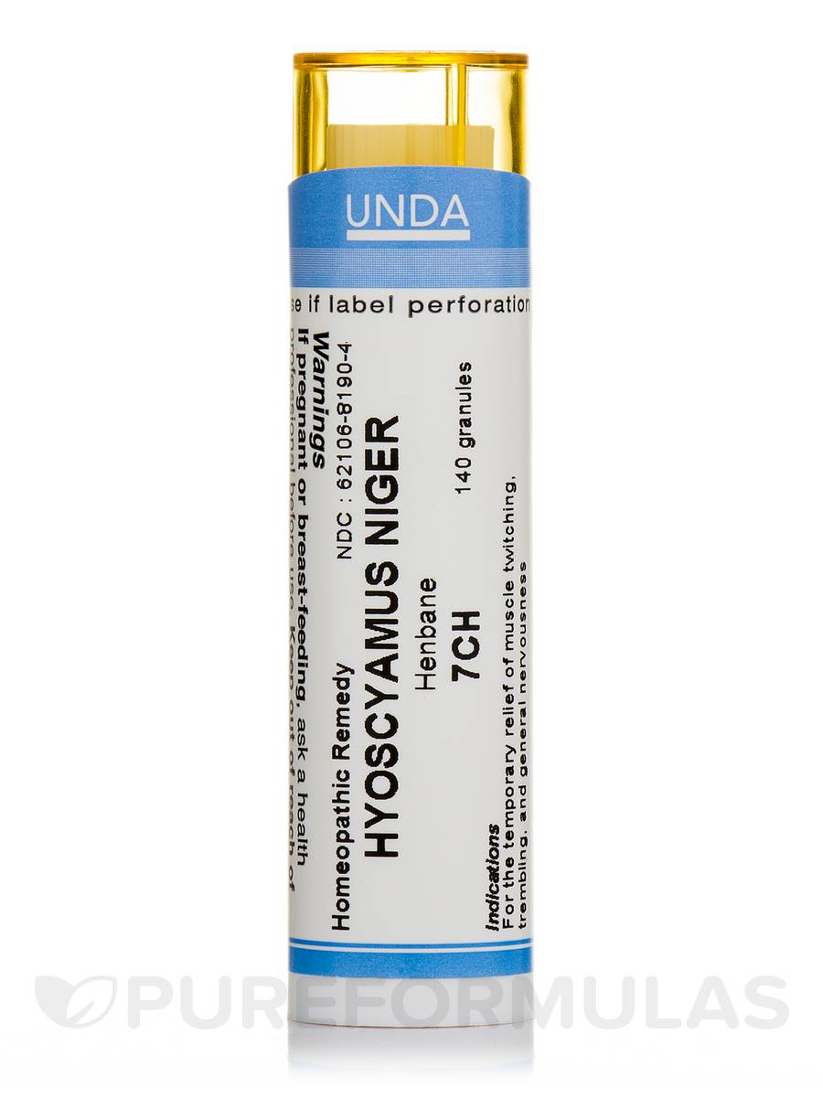 Hyoscyamus Niger 7CH - 140 Granules (5.5g)