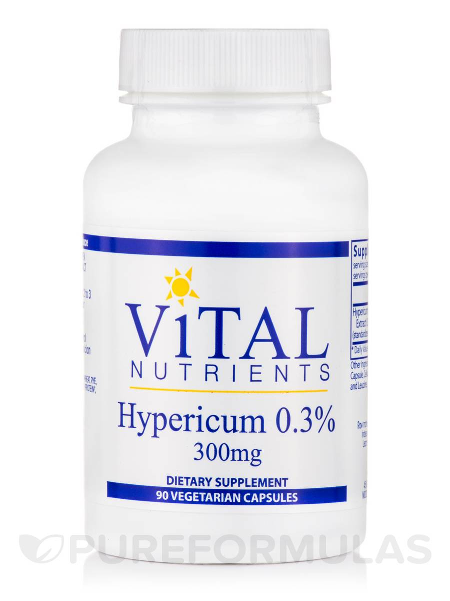 Hypericum Extract 0.3% 300 mg - 90 Vegetable Capsules