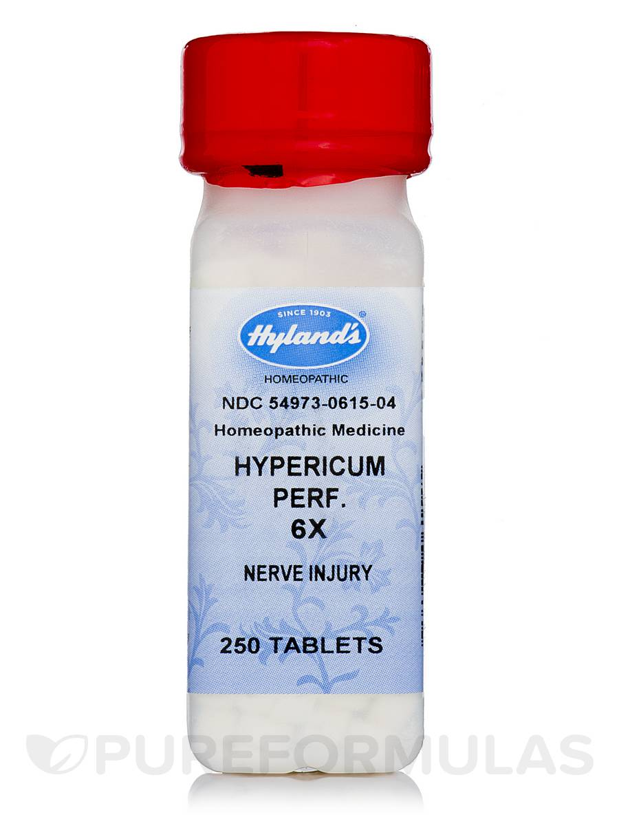 Hypericum Perfoliatum 6X - 250 Tablets