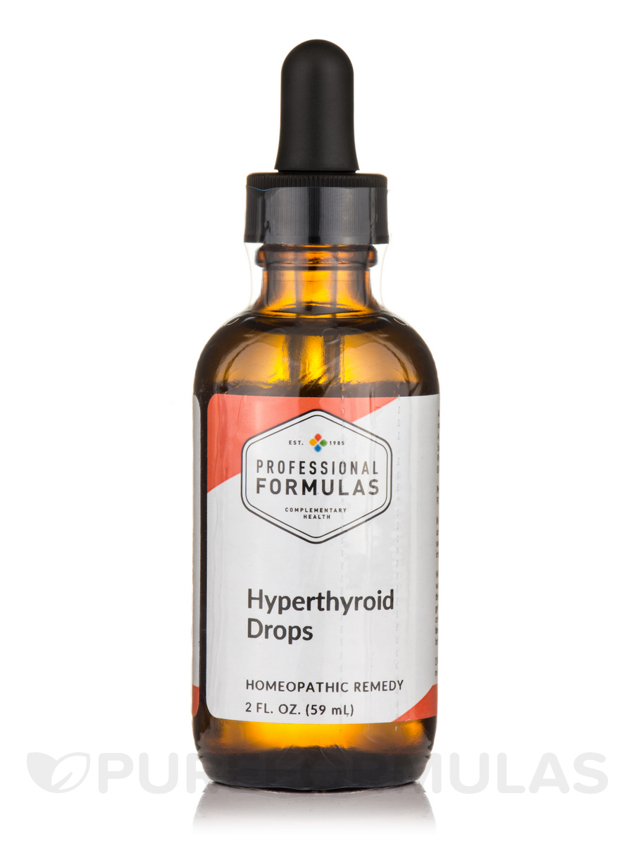 Hyperthyroid Drops - 2 fl. oz (59 ml)
