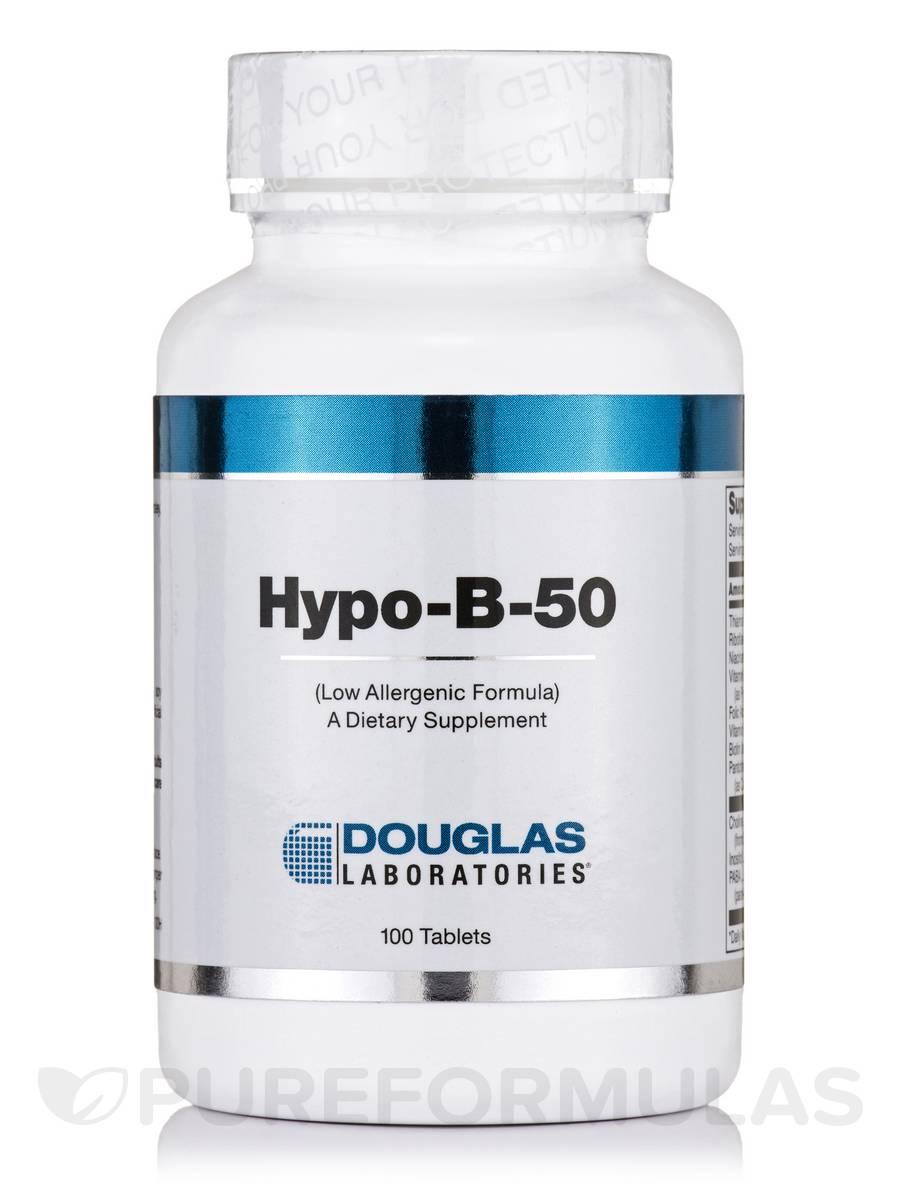 Hypo-B-50 - 100 Tablets