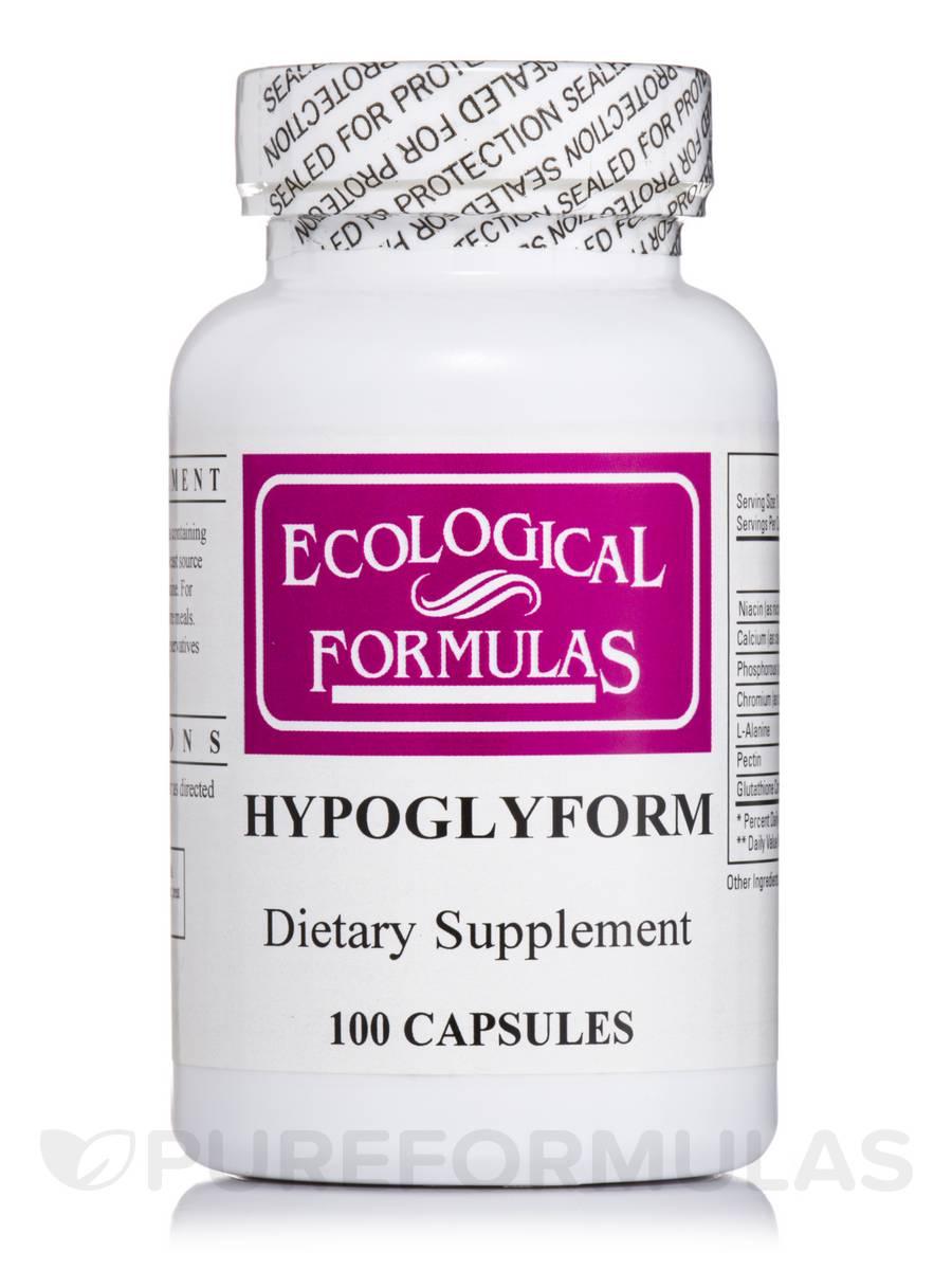 Hypoglyform - 100 Capsules