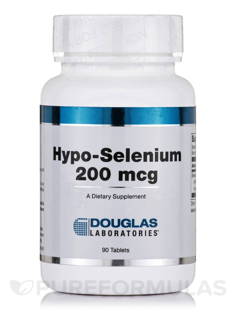 Hypo-Selenium 200 mcg - 90 Tablets
