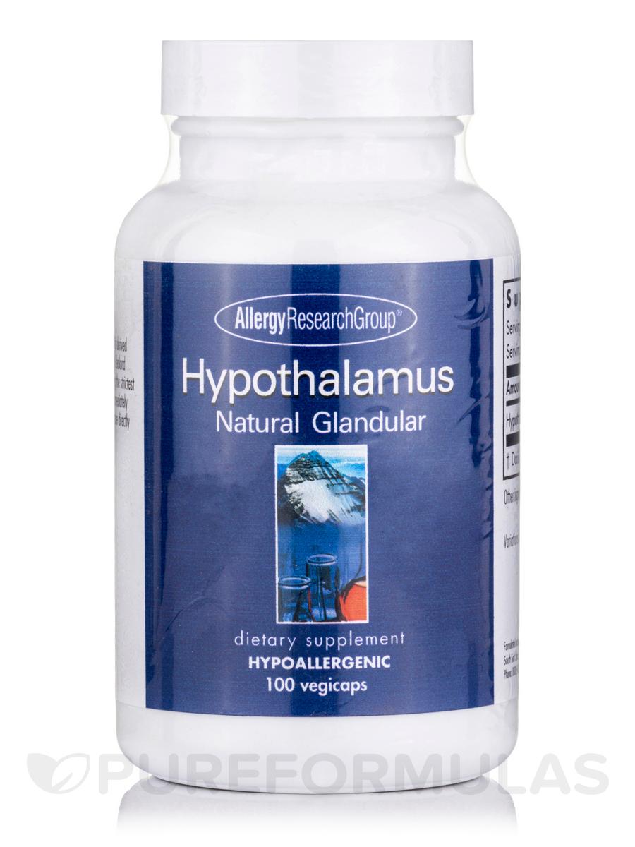 Hypothalamus Natural Glandular - 100 Vegetarian Capsules