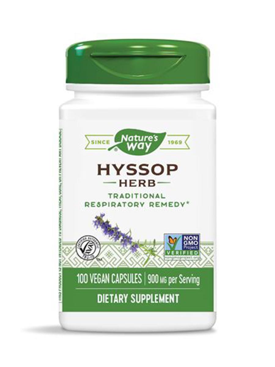 Hyssop 450 mg - 100 Capsules