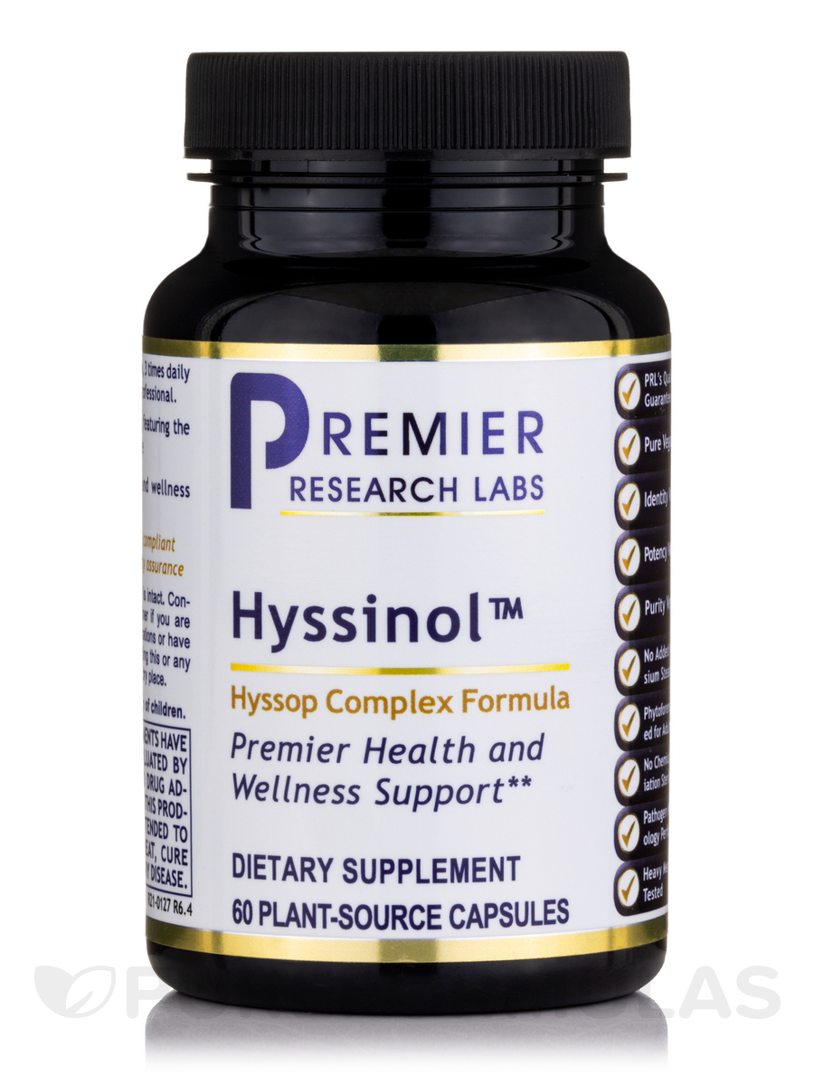 Hyssinol™ - 60 Vegetarian Capsules
