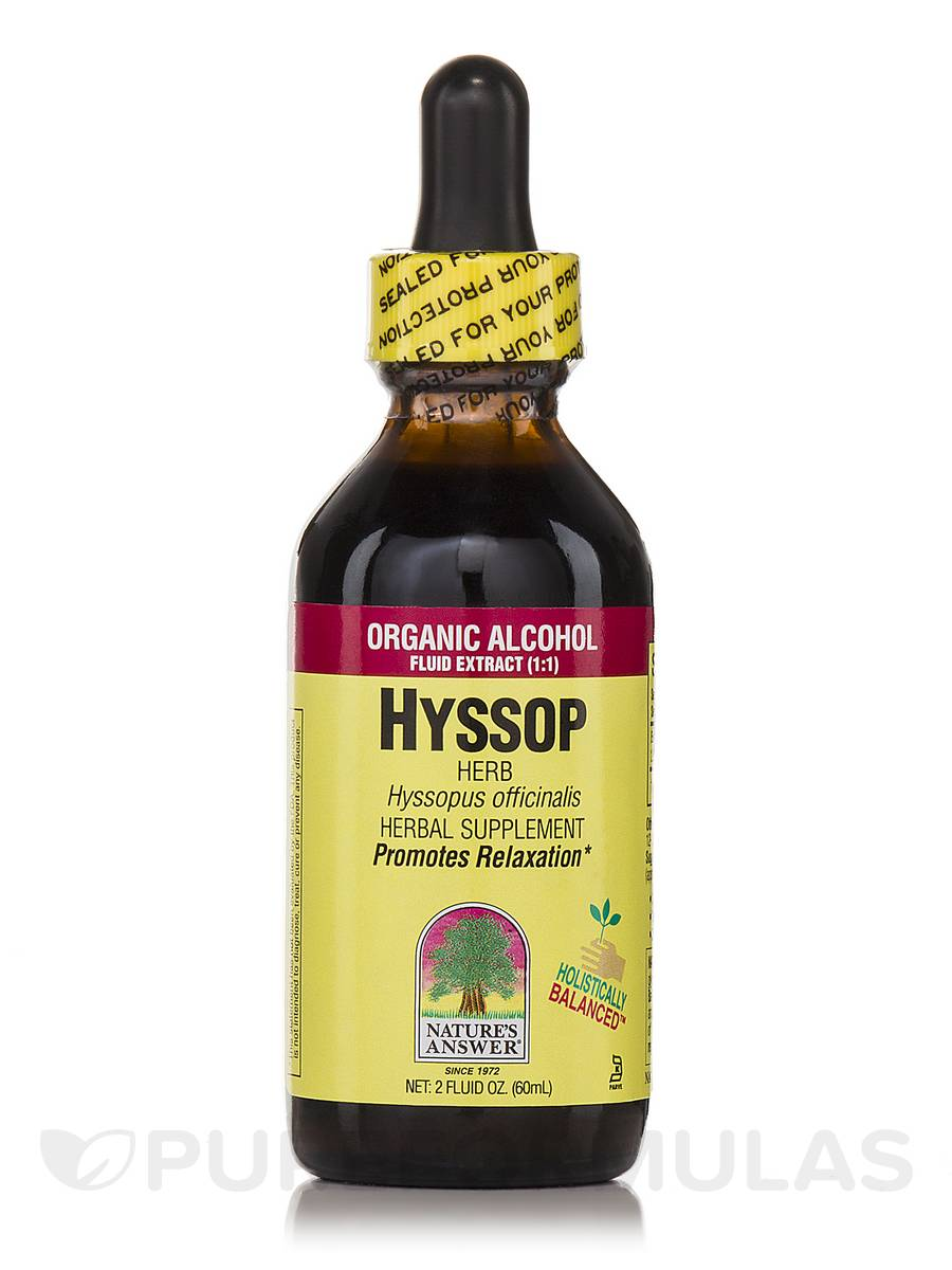 Hyssop Herb Extract - 2 fl. oz (60 ml)