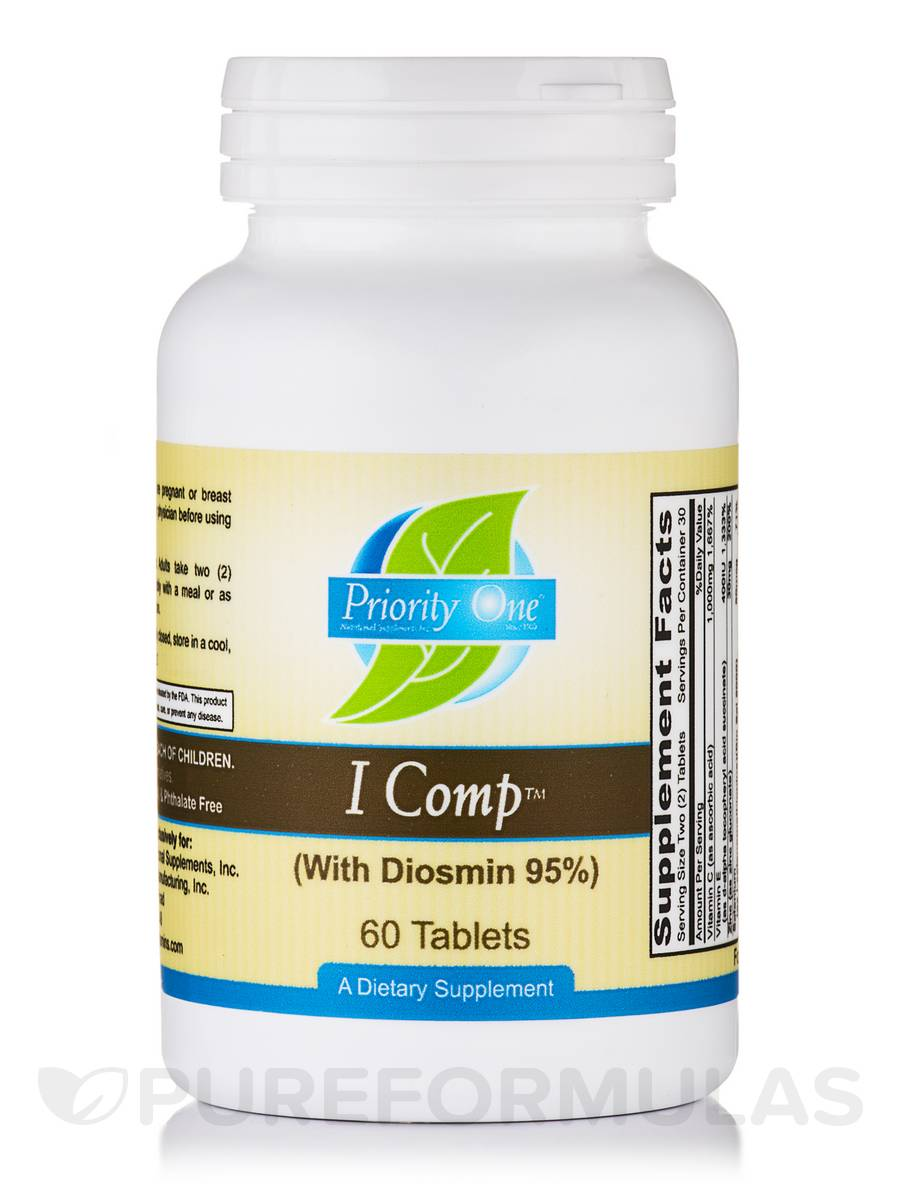 I Comp (With Diosmin 95%) - 60 Tablets