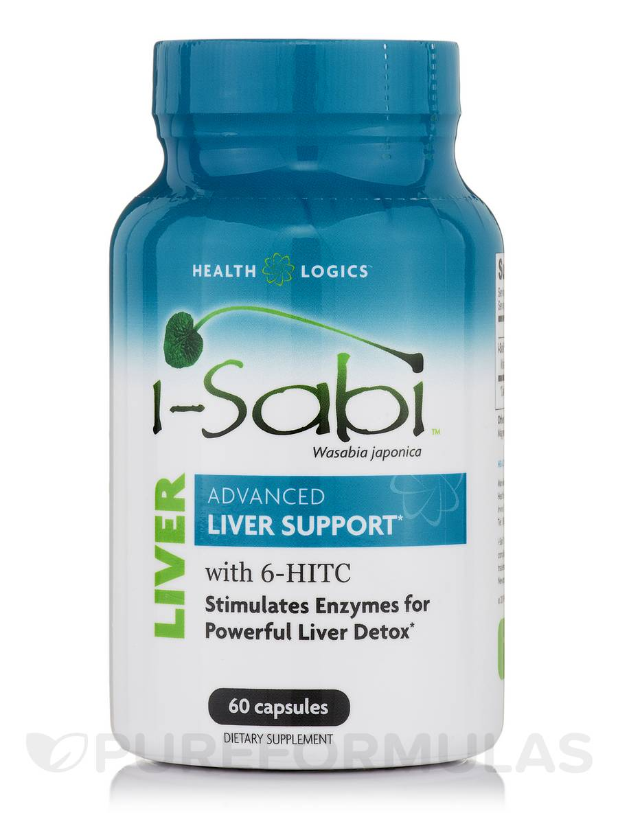 i-Sabi Wasabi Japonica (Advanced Liver Support) - 60 Capsules