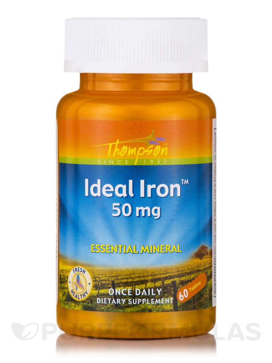 Ideal Iron - 60 Tablets