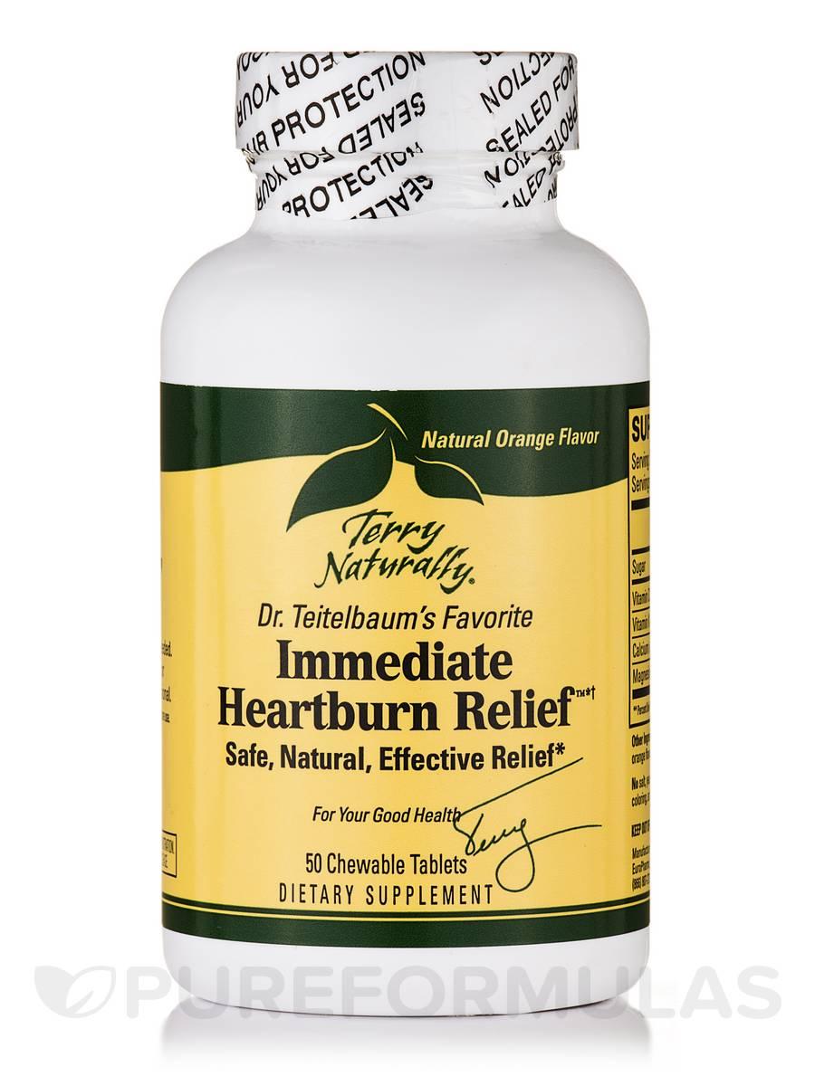 Immediate Heartburn Relief™ - 50 Chewable Tablets