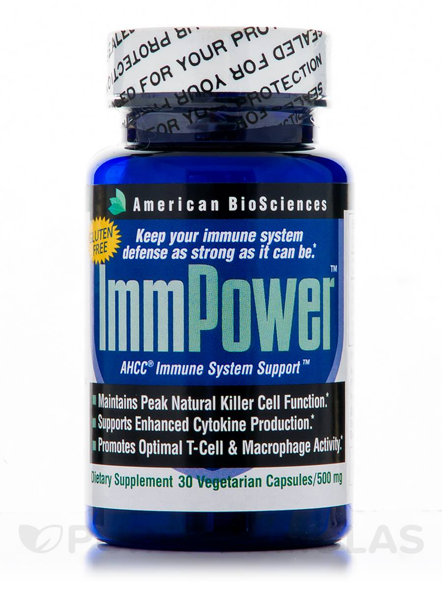 ImmPower AHCC 500 mg - 30 Vegetarian Capsules