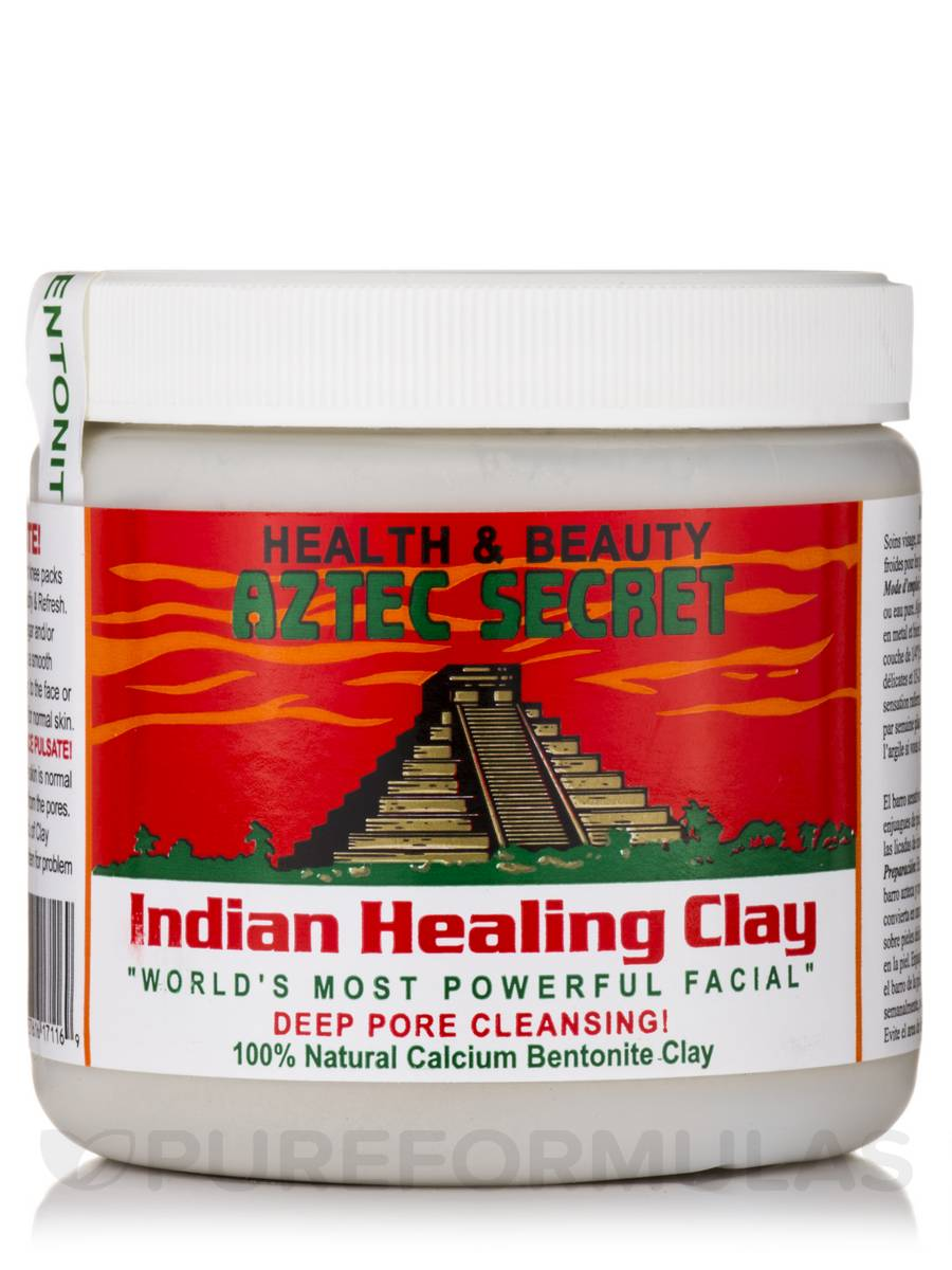 Indian Healing Clay - 1 Lb (454 Grams)