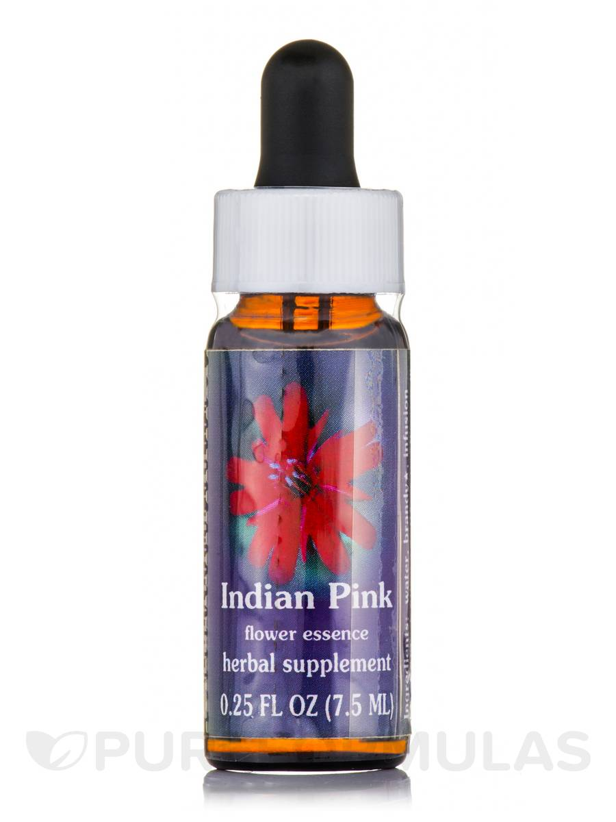 Indian Pink Dropper - 0.25 fl. oz (7.5 ml)