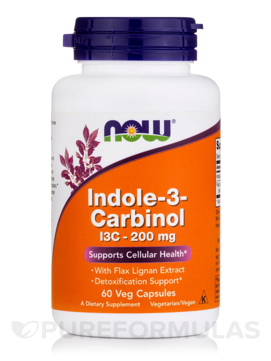 Indole-3-Carbinol (I3C) 200 mg - 60 Veg Capsules