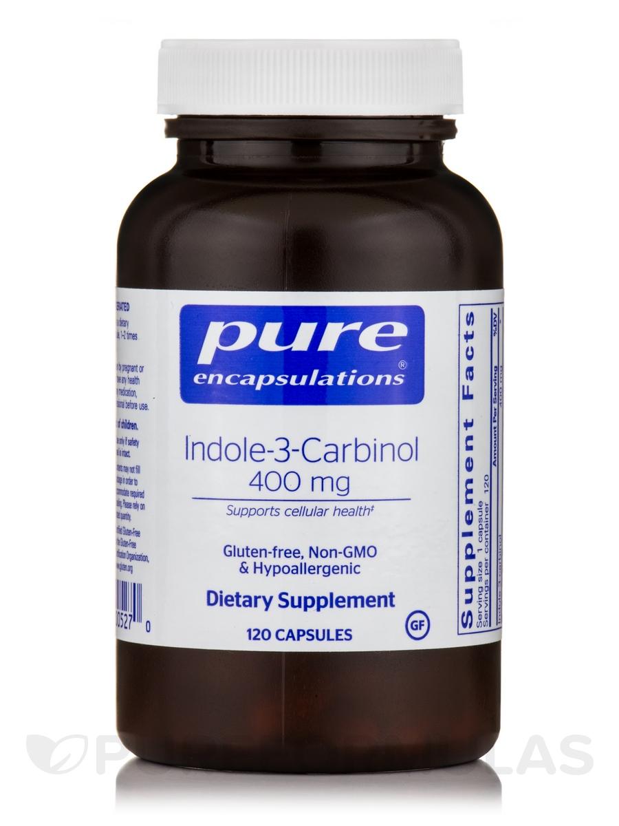 Indole-3-Carbinol 400 mg - 120 Capsules