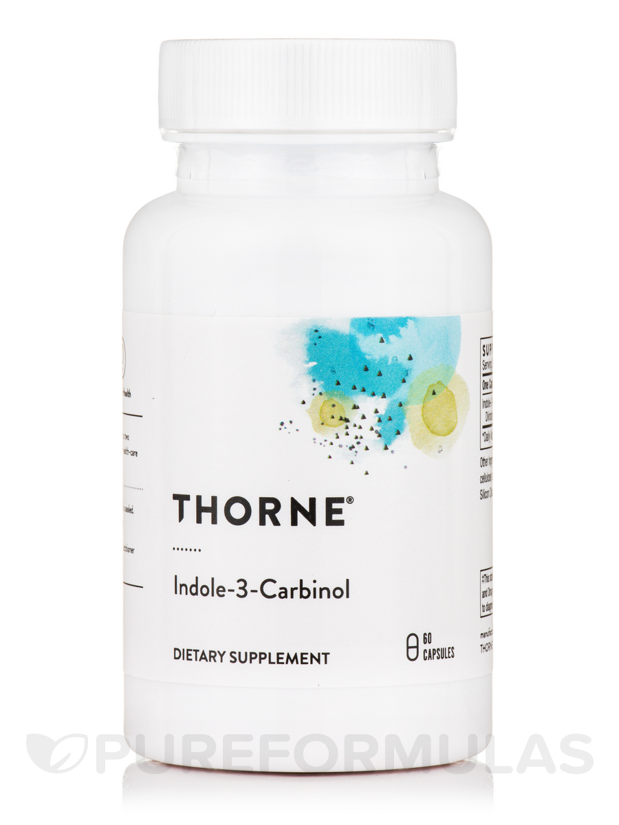 Indole-3-Carbinol - 60 Vegetarian Capsules