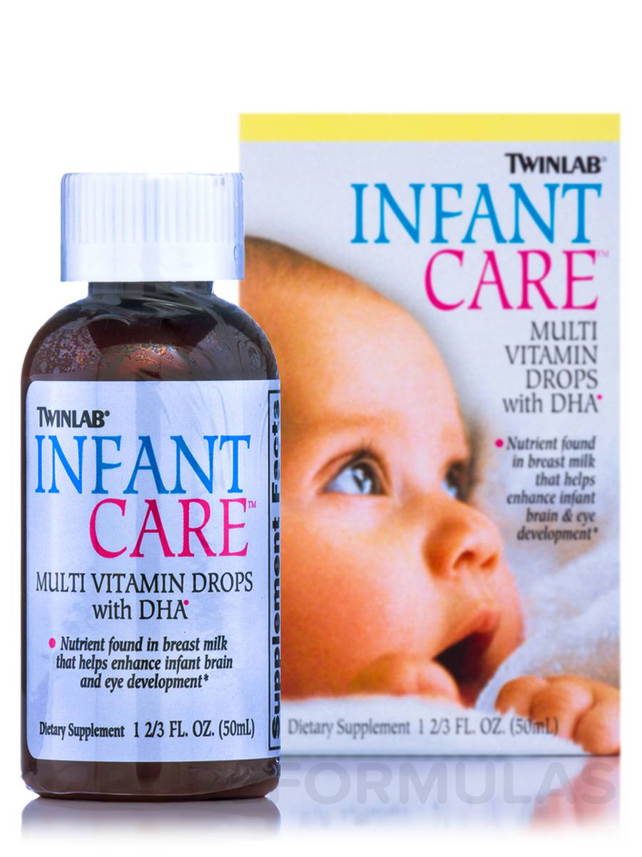 Infant Care Multivitamin Drops with DHA - 1.7 fl. oz (50 ml)