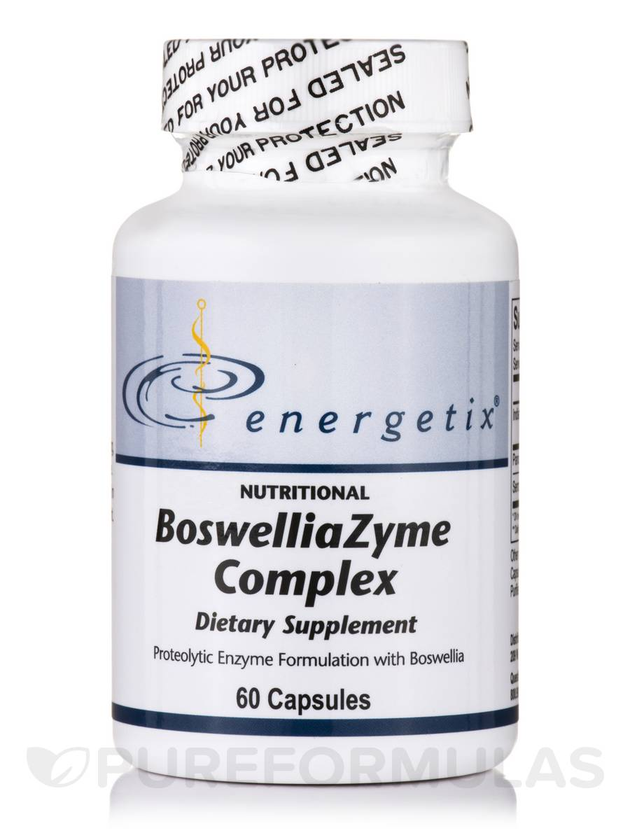 BoswelliaZyme Complex (formerly InflammaForce) - 60 Capsules