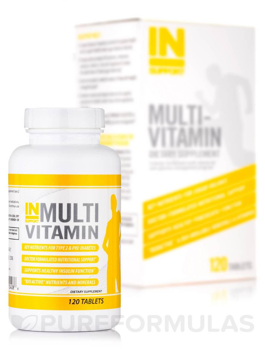 INSupport Multi Vitamin - 120 Tablets