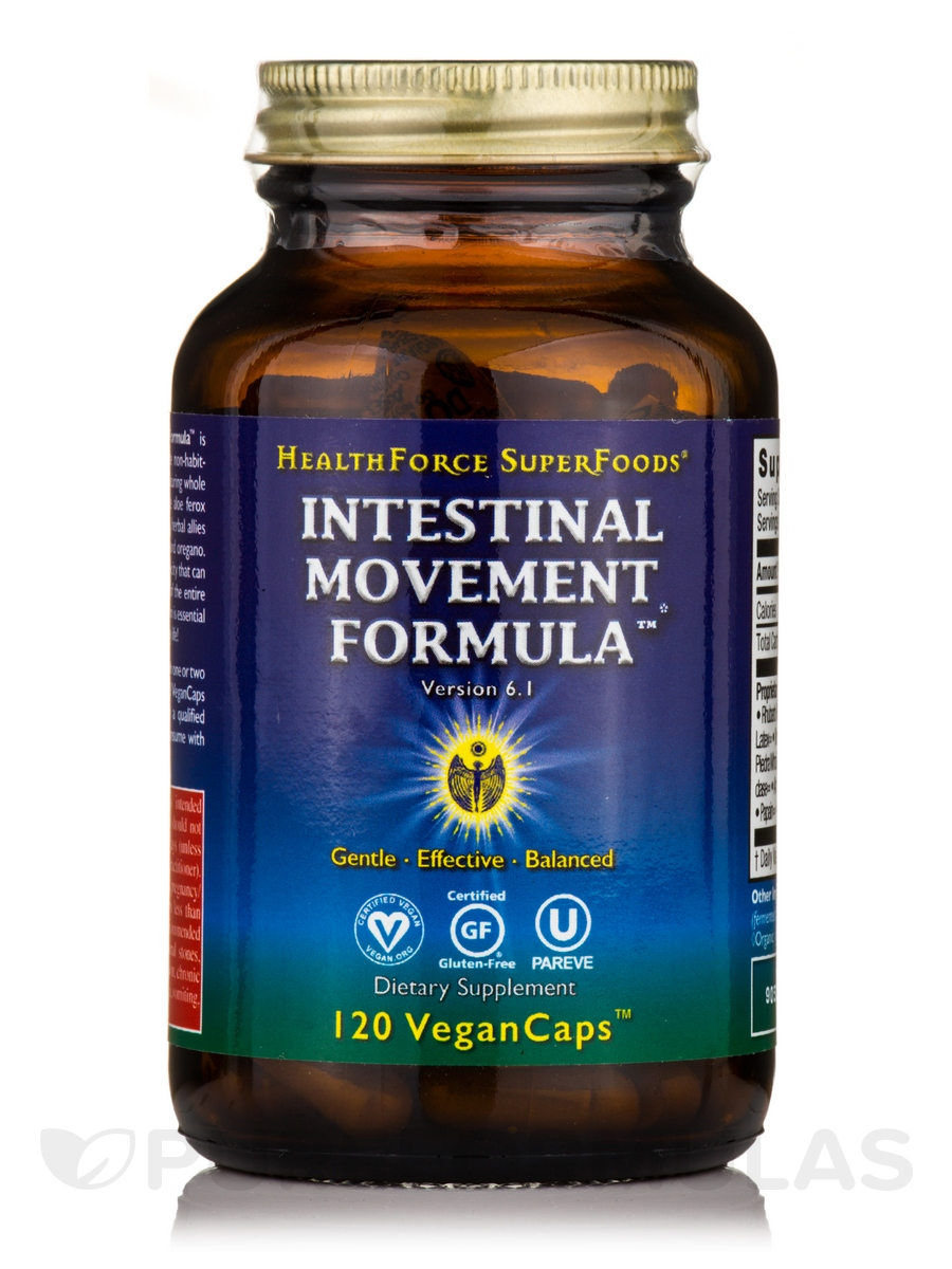 Intestinal Movement Formula™ - 120 Vegan Capsules
