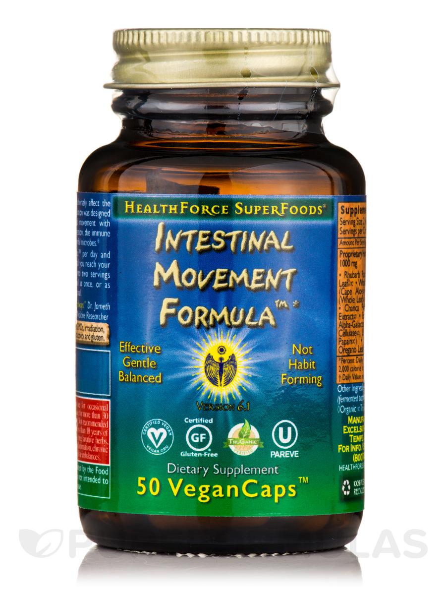 Intestinal Movement Formula™ - 50 Vegan Capsules