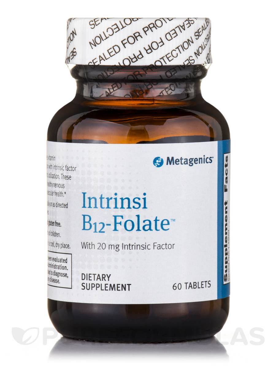 Intrinsi B12-Folate™ - 60 Tablets