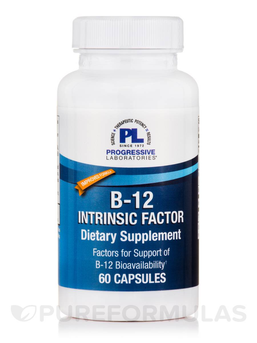 B-12 Intrinsic Factor - 60 Capsules