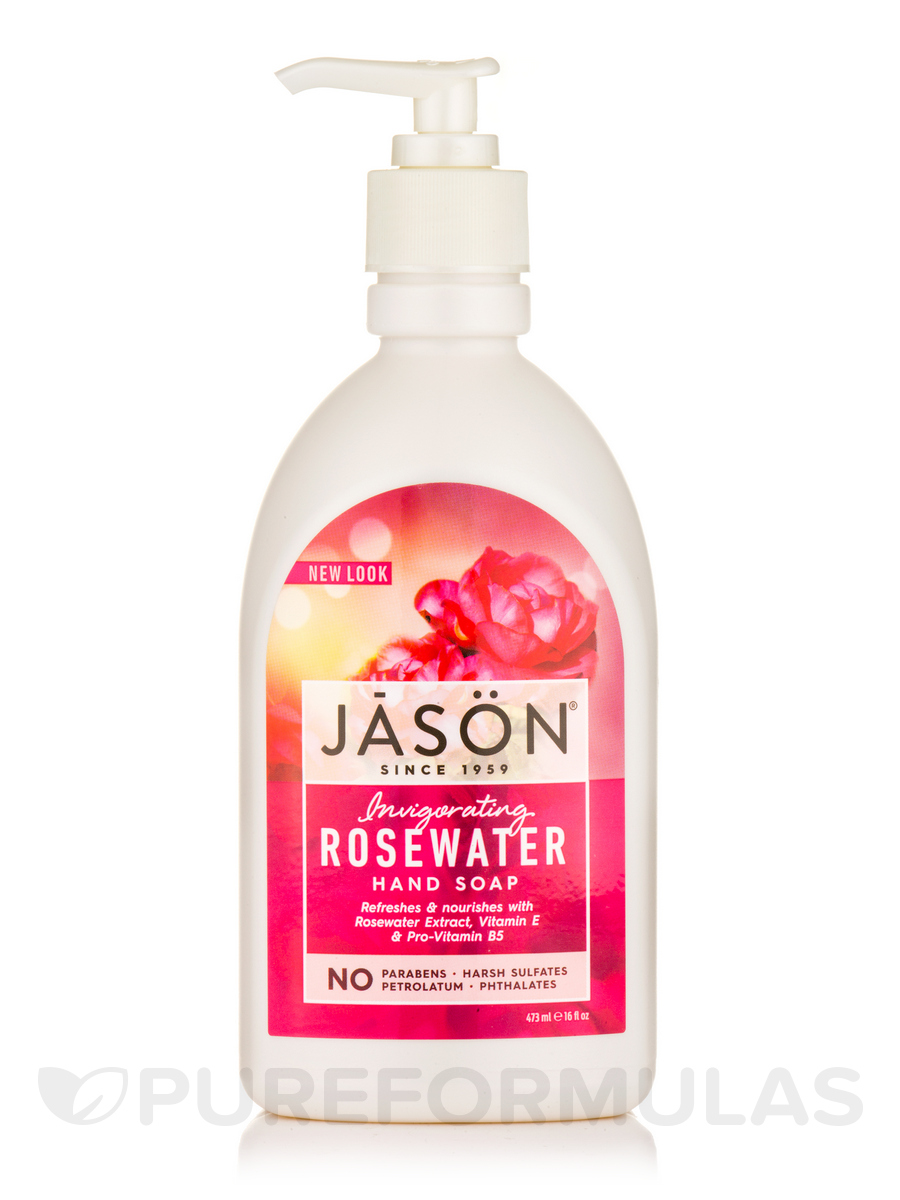 Invigorating Rosewater Hand Soap - 16 fl. oz (473 ml)