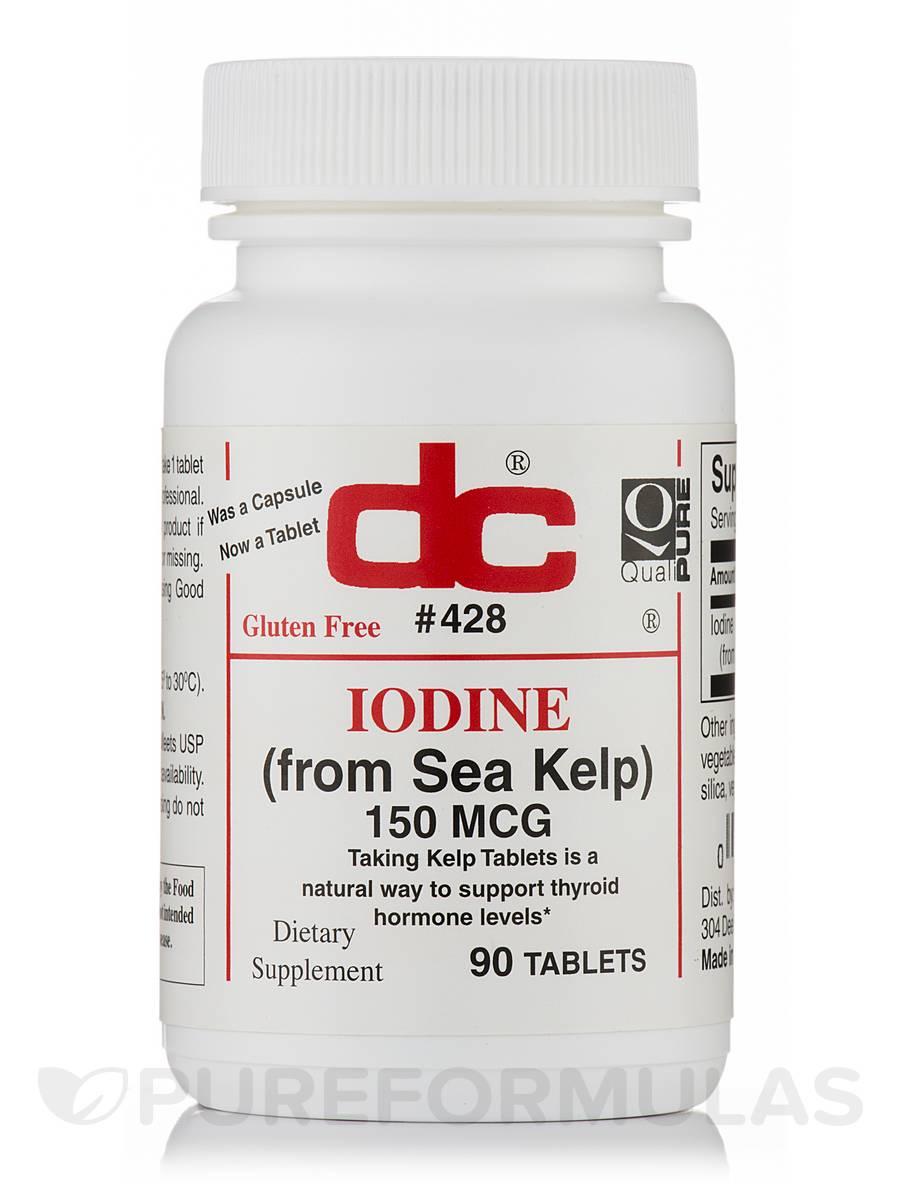 Iodine 150 mcg - 90 Tablets