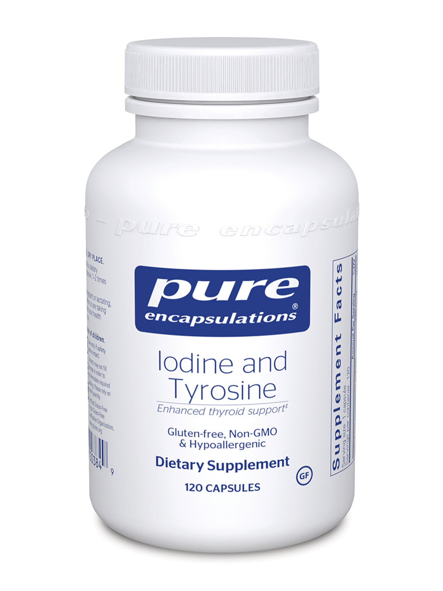Iodine and Tyrosine - 120 Capsules