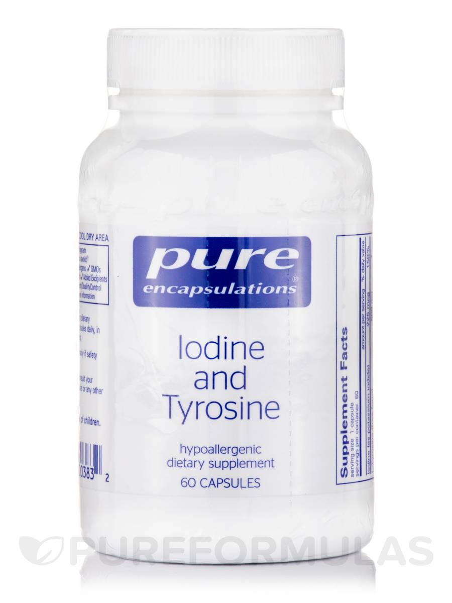 Iodine and Tyrosine - 60 Capsules