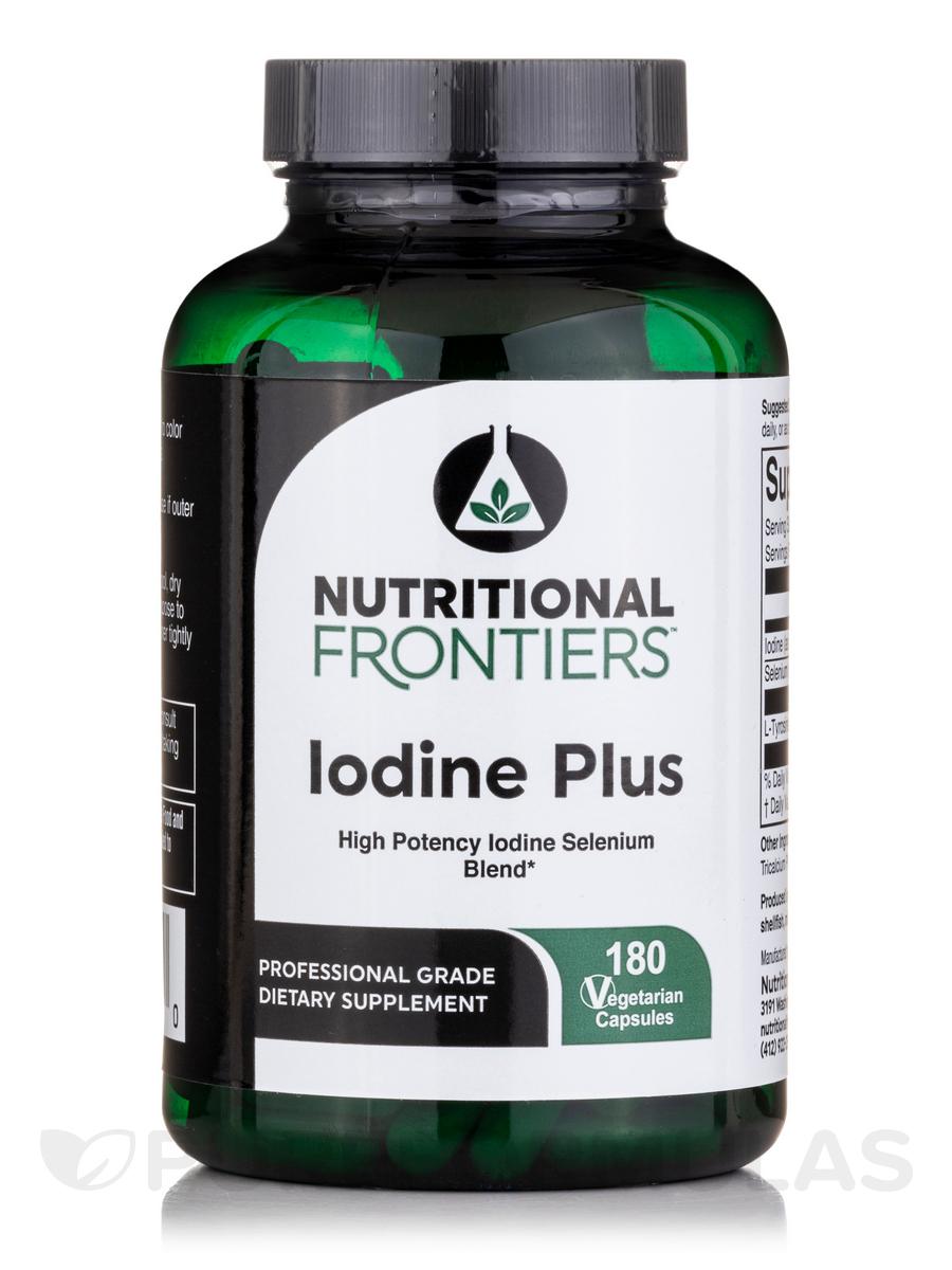 Iodine Plus - 180 Vegetarian Capsules
