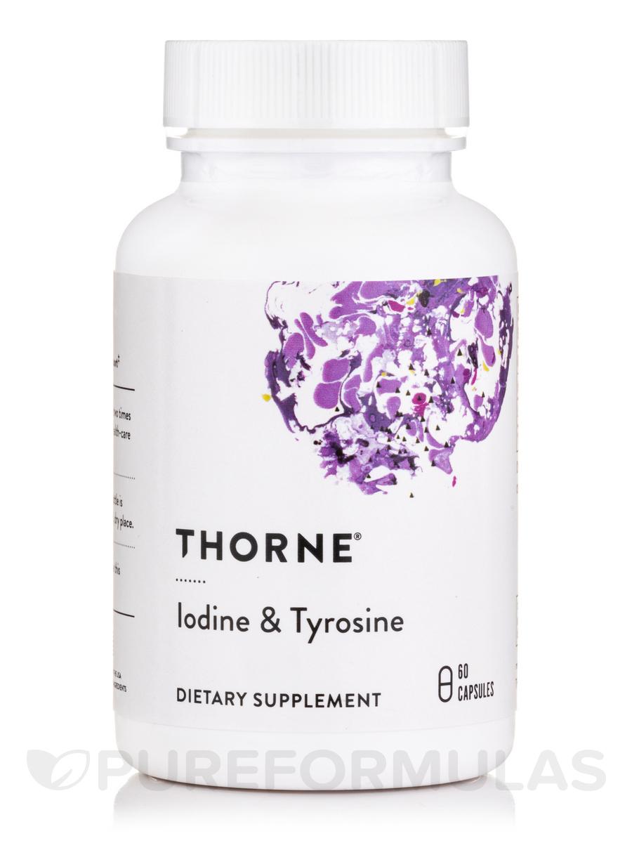 Iodine & Tyrosine - 60 Vegetarian Capsules