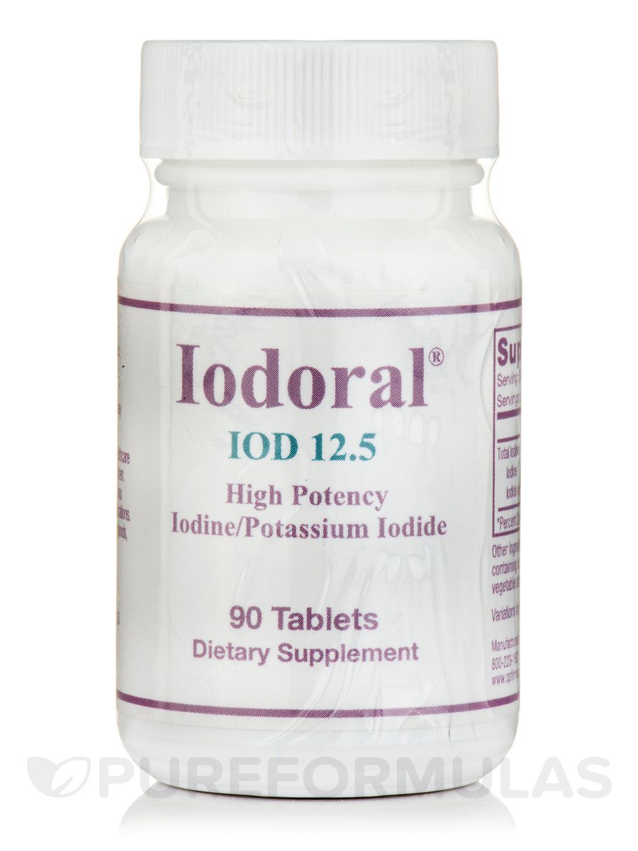 Iodoral 90 Tablets Gnc Selenium 50 100 Tablet