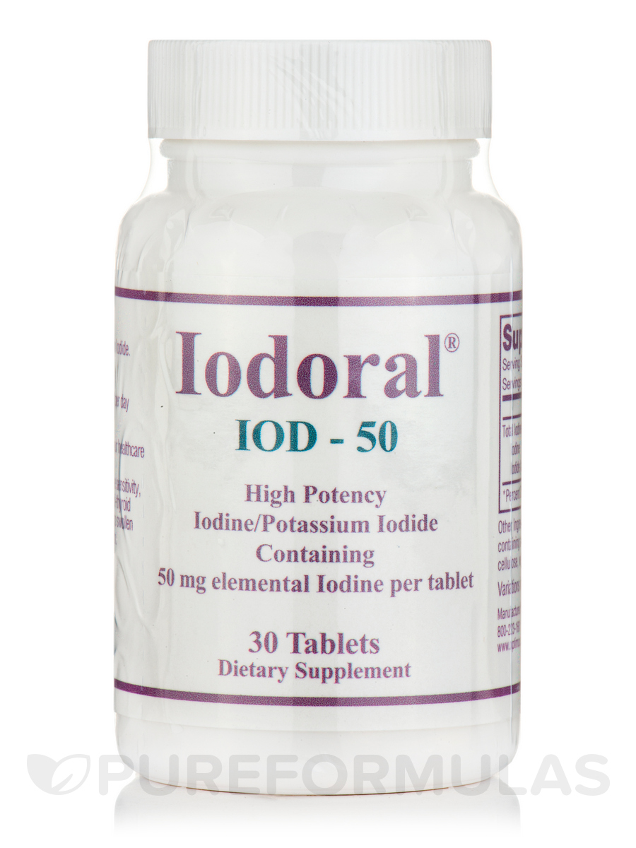 Iodoral IOD-50 - 30 Tablets