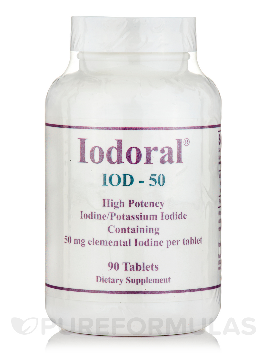 Iodoral IOD-50 - 90 Tablets
