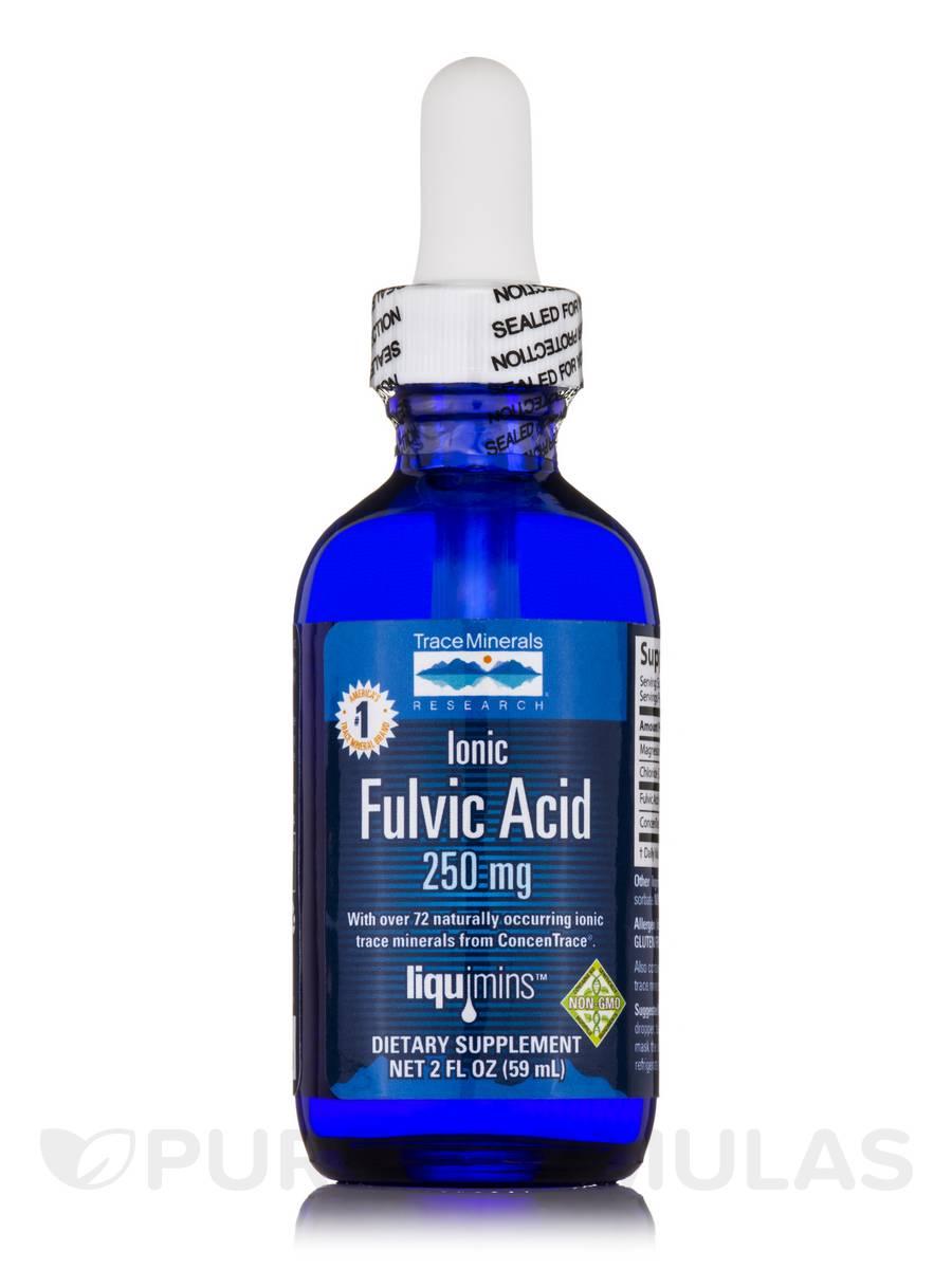Ionic Fulvic Acid 250 mg - 2 fl. oz (59 ml)