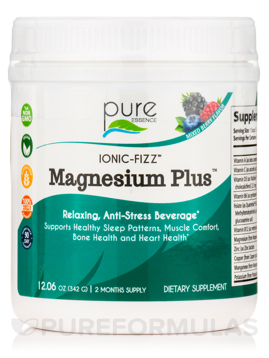 Ionic-Fizz™ Magnesium Plus - Mixed Berry - 12.06 oz (342 Grams)