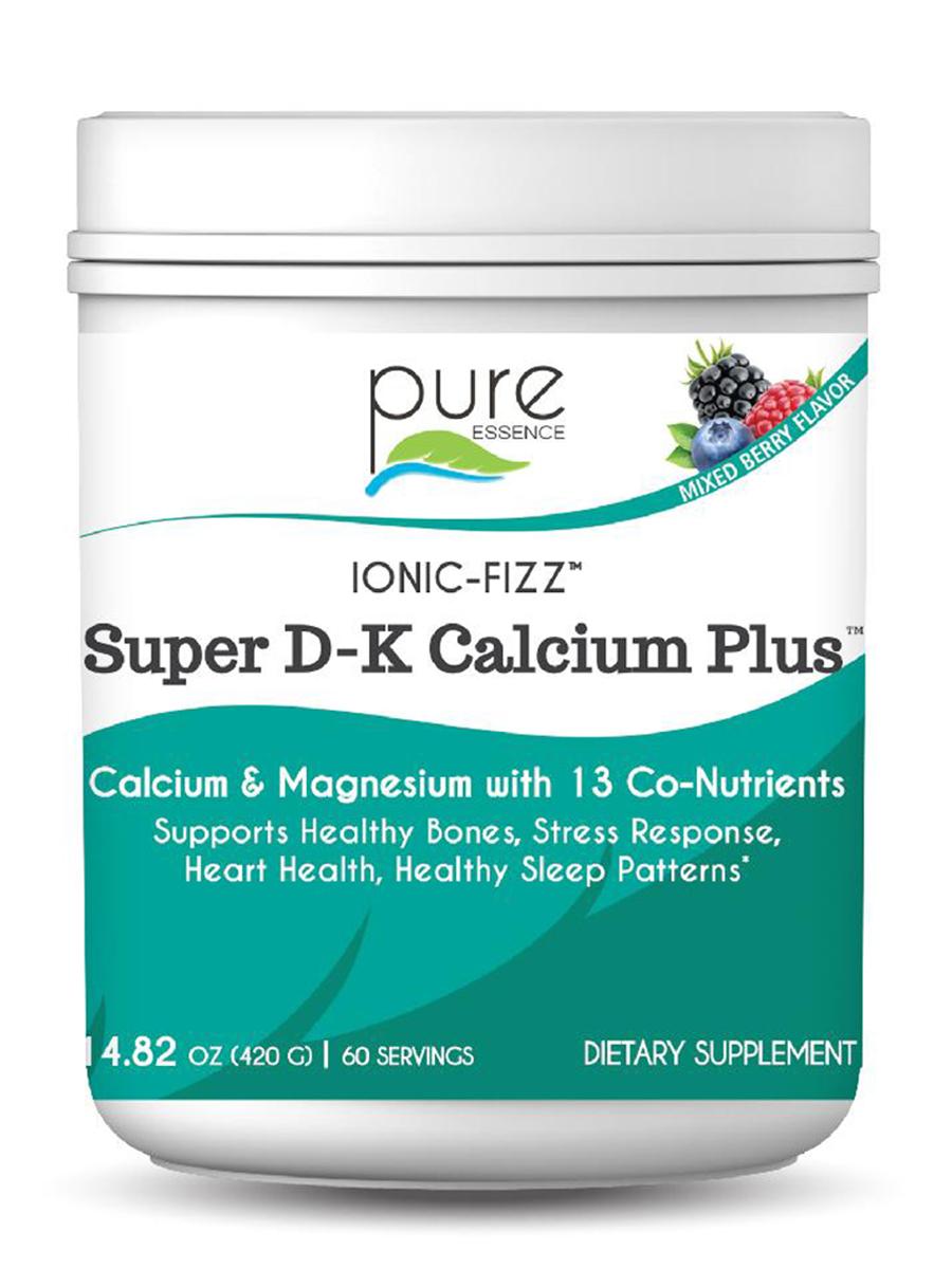 Ionic-Fizz™ Super D-K Calcium Plus™, Mixed Berry Flavor - 14.82 oz (420 Grams)