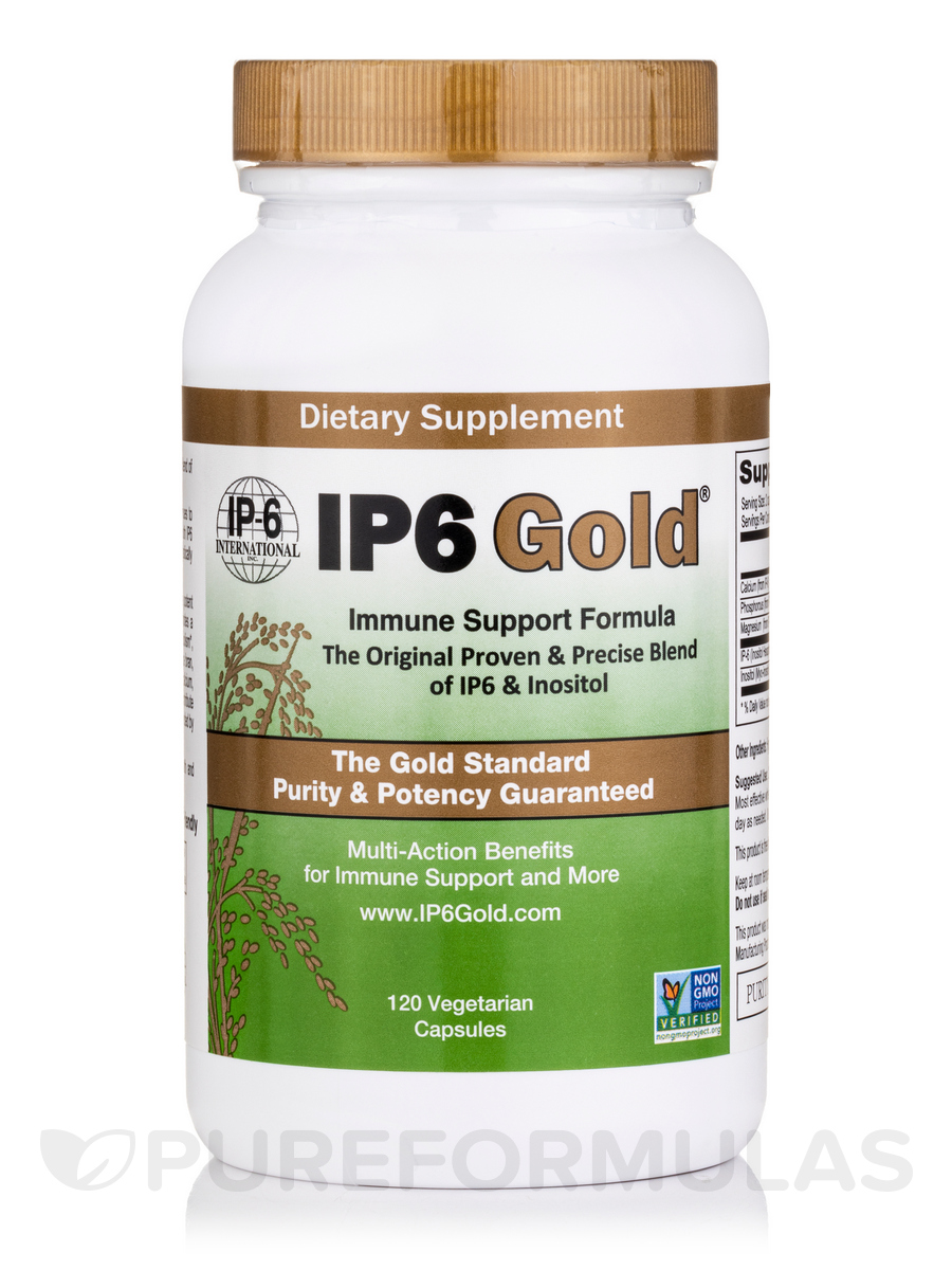 IP6 Gold® Immune Support Formula - 120 Vegetarian Capsules