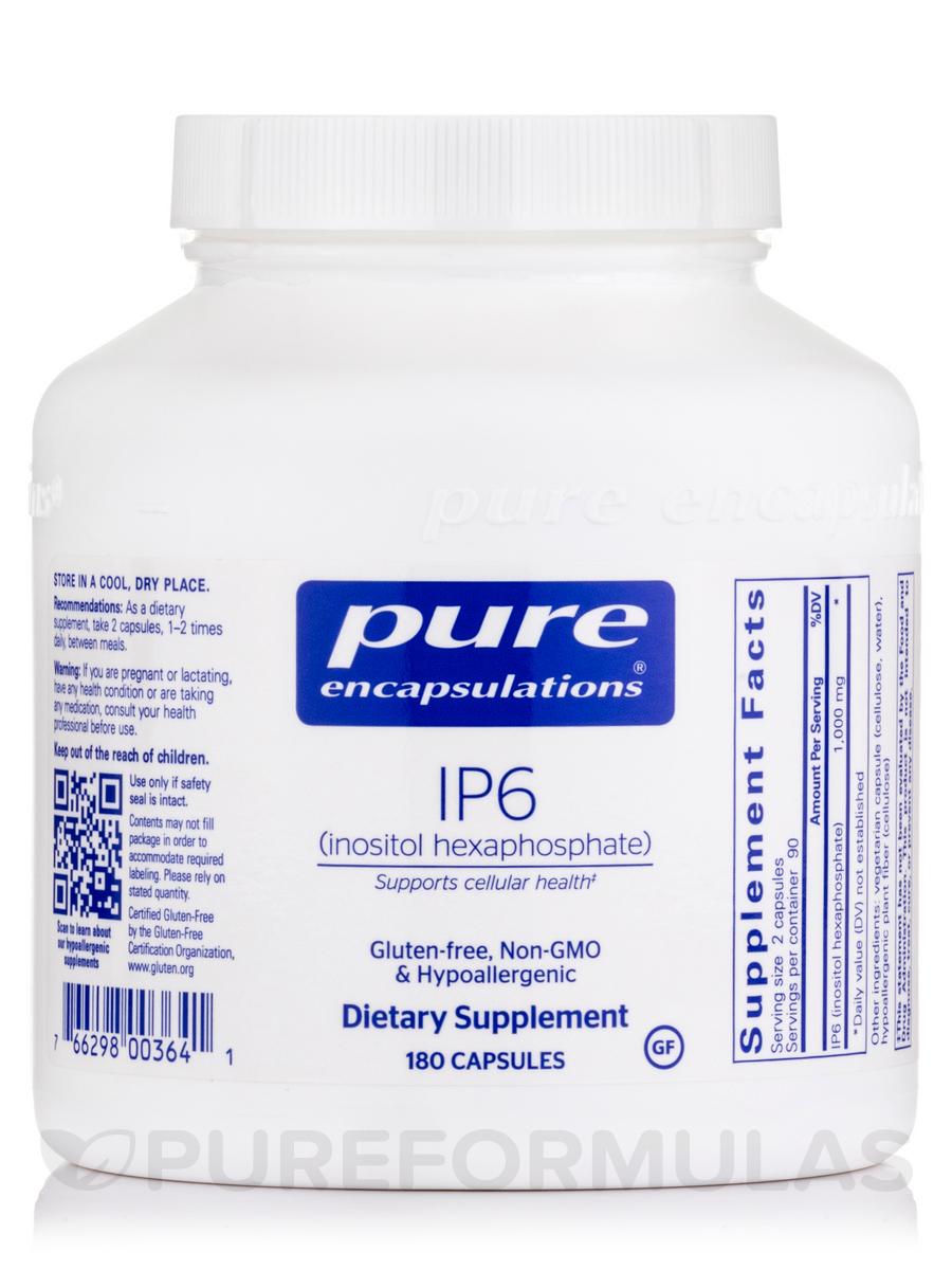 IP6 (inositol hexaphosphate) - 180 Capsules