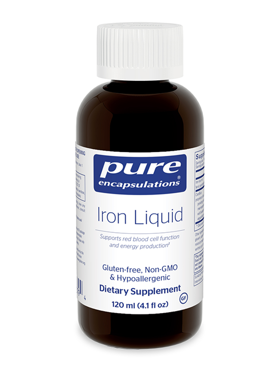 Iron Liquid - 4 fl. oz (120 ml)