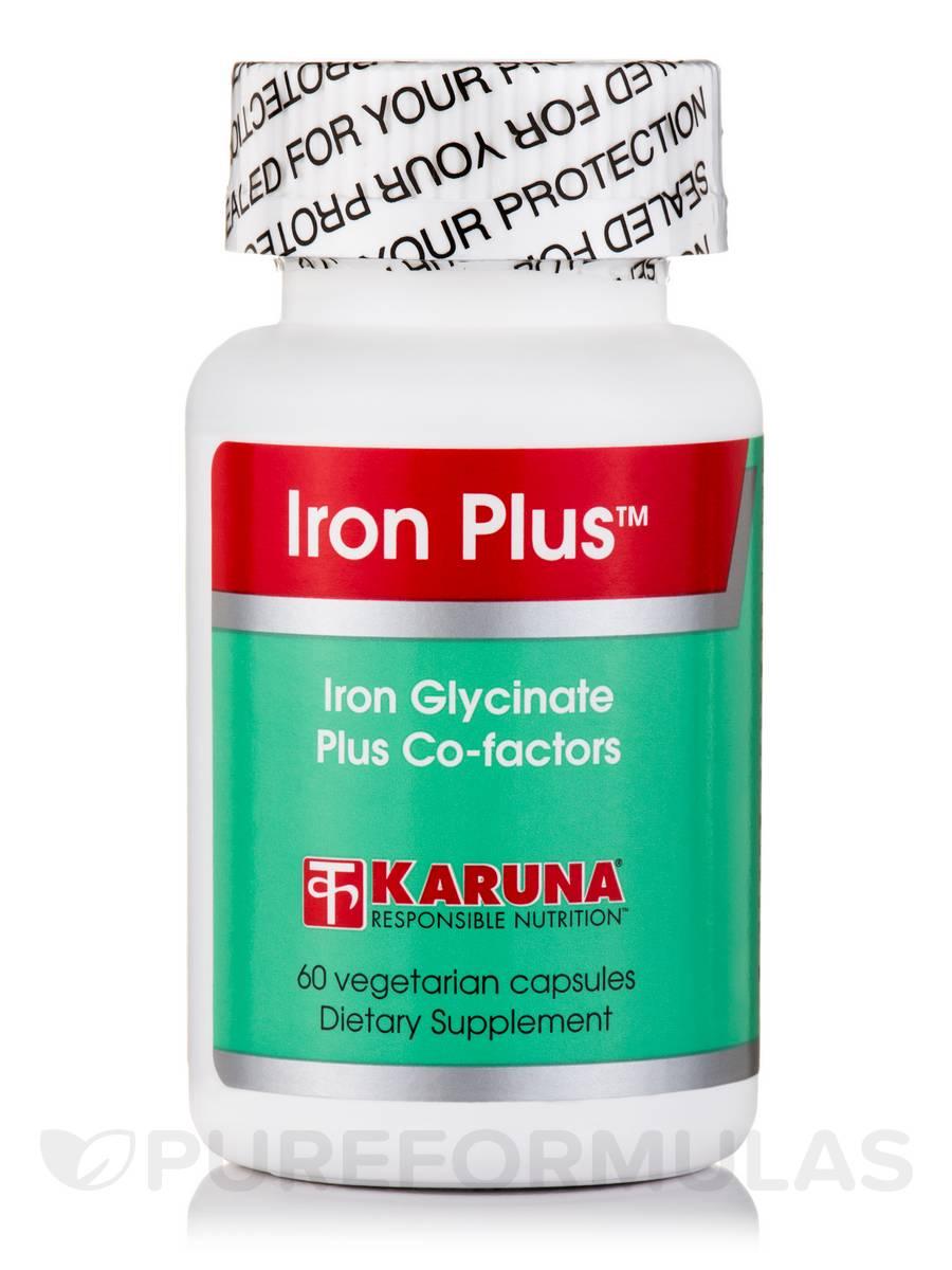 Iron Plus - 60 Vegetable Capsules