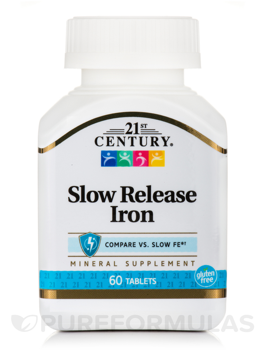 Iron Slow Release - 60 Tablets