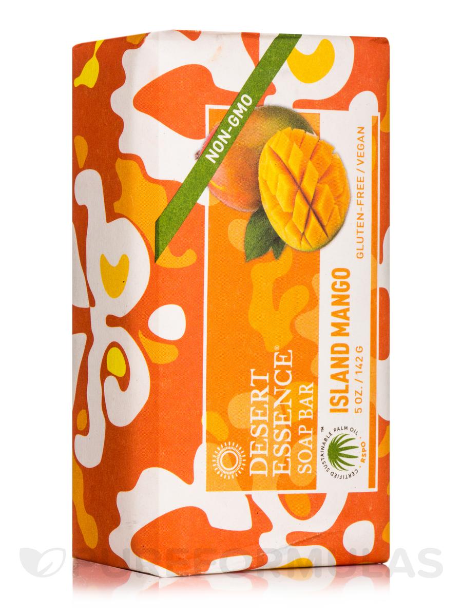 Island Mango Soap Bar - 5 oz (142 Grams)