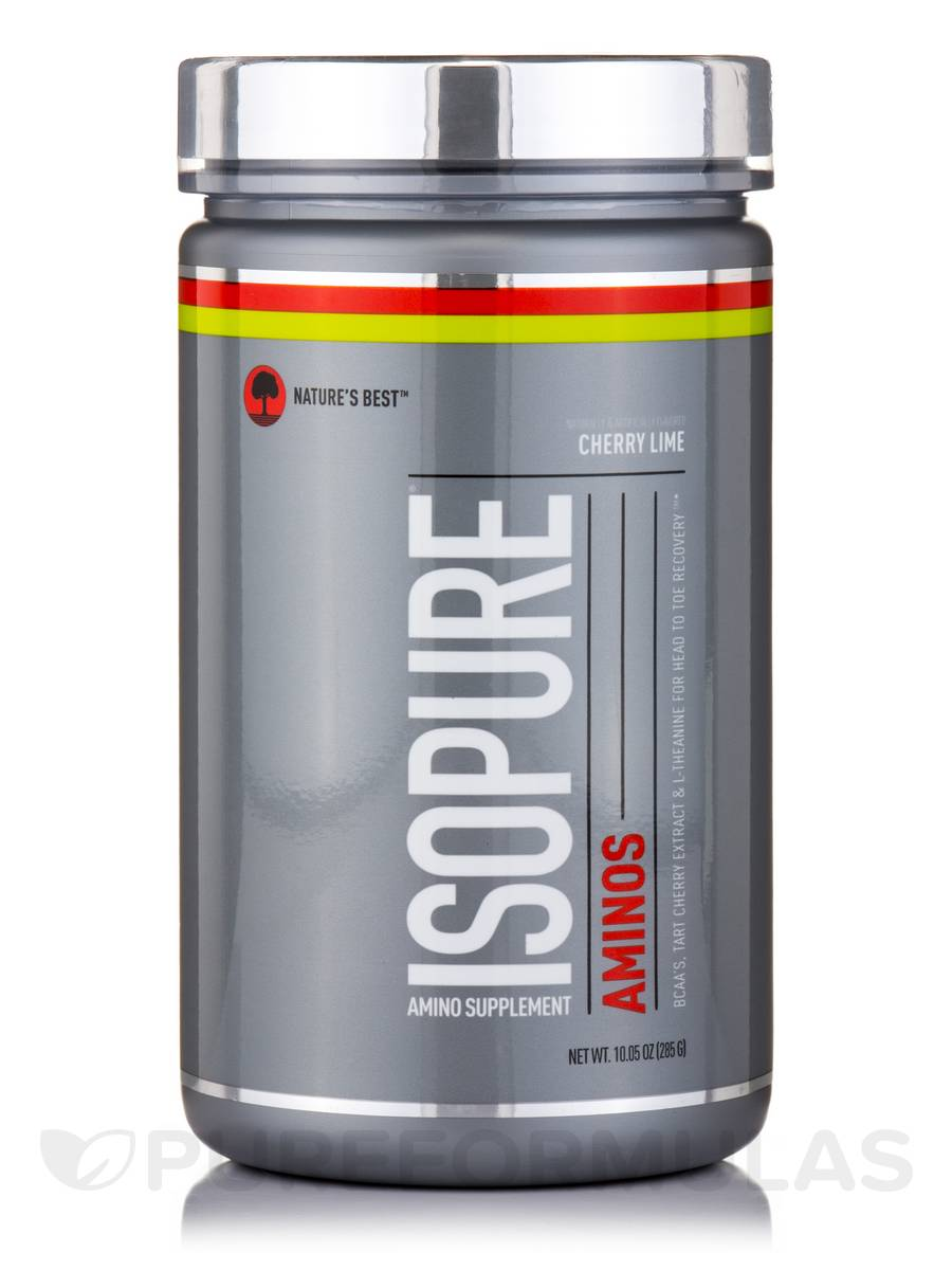 Isopure Aminos, Cherry Lime - 10.05 oz (285 Grams)