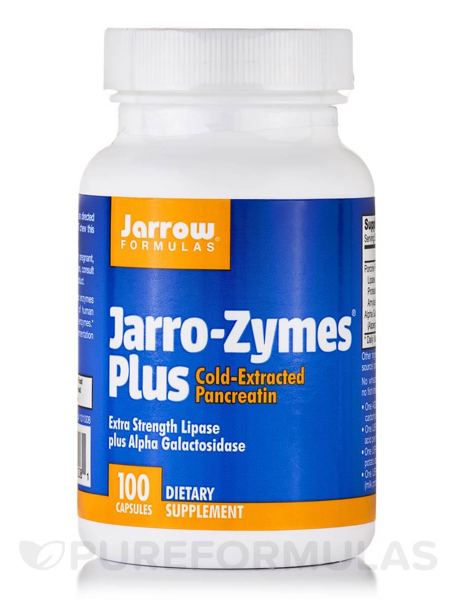Jarro-Zymes Plus - 100 Capsules